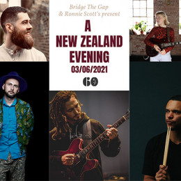 A New Zealand Evening at Ronnie's: EFG London Jazz Festival